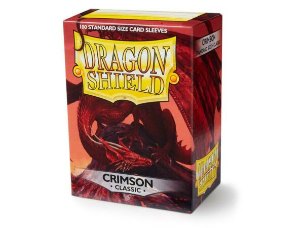 Classic Crimson 100 ct Dragon Shield Sleeves Standard Size SHIPS FREE 10% OFF 2 $9.10