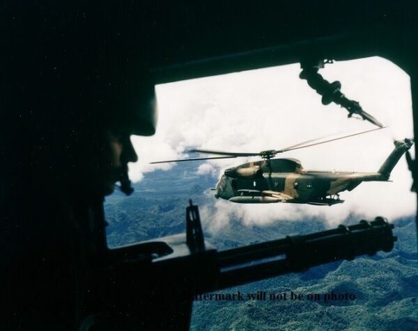 Gunners Position on a HH-53 Helicopter 8