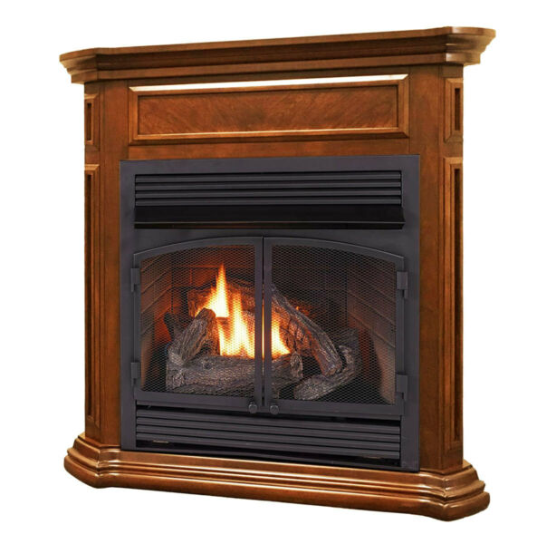 Duluth Forge Dual Fuel Ventless Gas Fireplace - 32000 BTU Remote Control