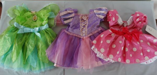 Disney Store Baby costume dress for 12 18 m: TINKERBELL RAPUNZEL MINNIE