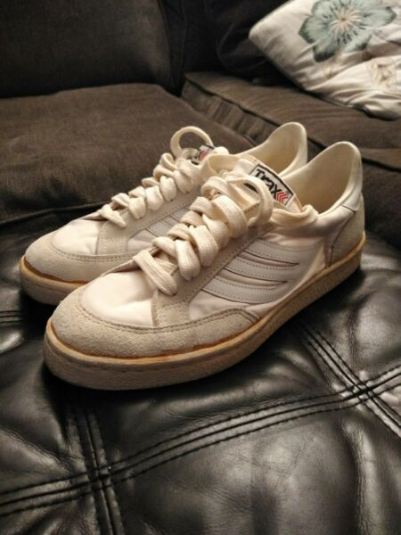 1970's80's Men's Traxx Sneakers Low Top White Size 7