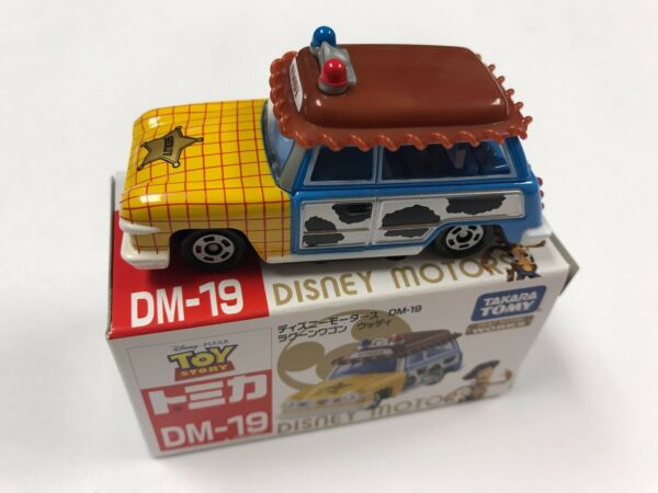 Tomy Tomica Disney Motor Toy Story DM-19 Lagoon wagon Woody-Ships From USA