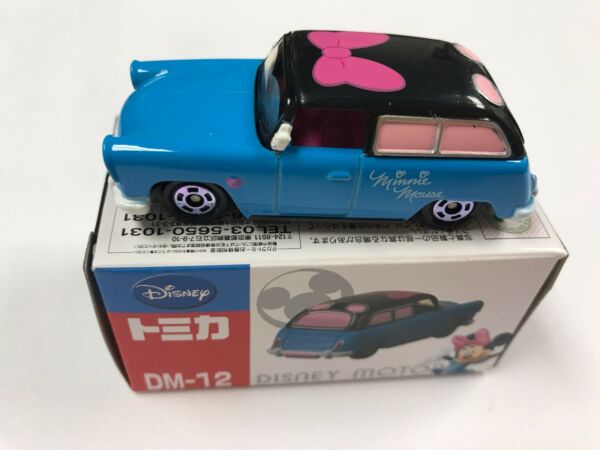 TAKARA TOMY TOMICA DISNEY MOTOR MINNIE MOUSE LAGOON WAGON DM 12 Ships From USA