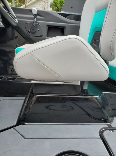 Drivers seat risers for Malibu and Axis boats by Inland Curl