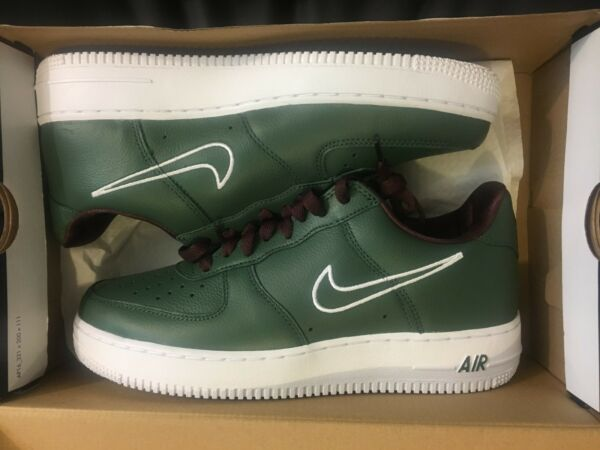 NEW NIKE AIR FORCE 1 LOW RETRO HONG KONG AF1 FOREST SHOES 845053-300 MEN SZ 7.5