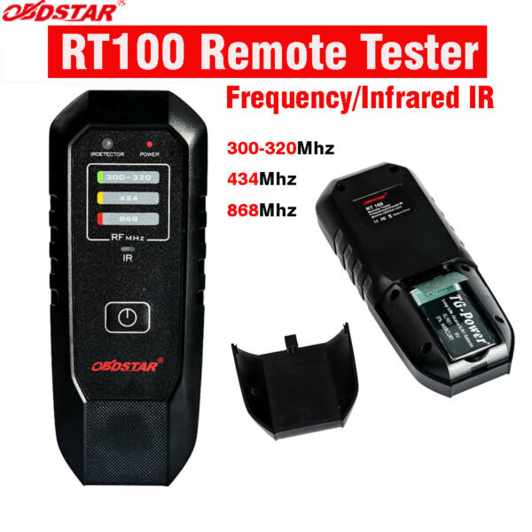 US Shipping OBDSTAR RT100 Remote Tester Frequency Infrared IR Test 434Mhz868Mhz