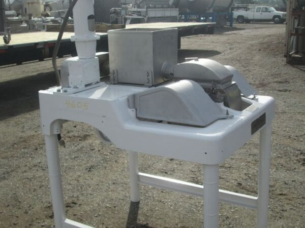 Fitzpatrick hammer mill Model DAO 6 SS product contact auger feed