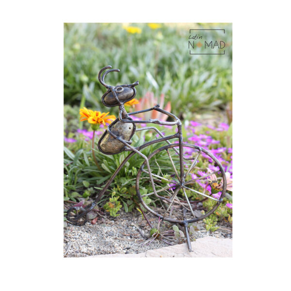 Penny Farthing Ant Rider Patio and Garden Decor Vintage Bicycle Ant $9.99