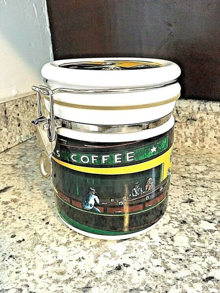 STARBUCKS Canister Coffee Chaleur D Burrows Diner Store CONTAINER BEANS
