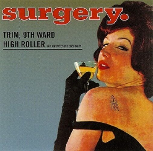 Surgery - Trim 9th Ward High Roller - 1993 Amphetamine Reptile NEW CD