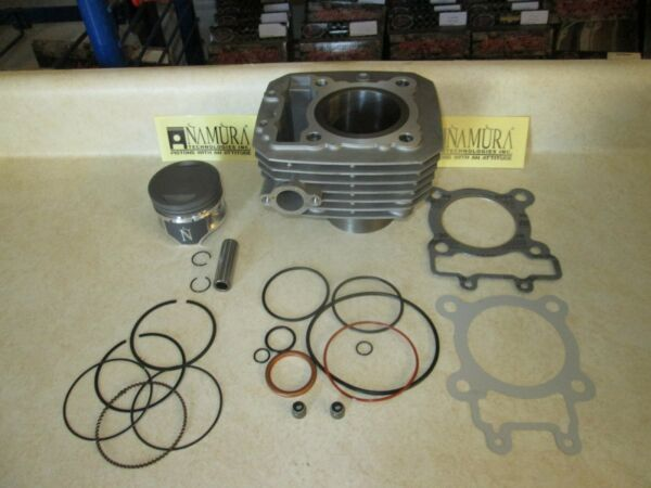 NEW Complete Top End Cylinder Kit For a  Kawasaki KLF 220 BAYOU 1992-2002