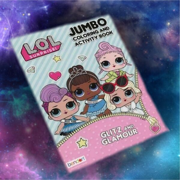 LOL SURPRISE DOLLS JUMBO COLORING BOOK L.O.L. Doll Lol lol 80 PAGES BRAND NEW
