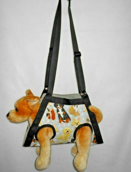 SM BREED:XS-XXXL3XL BEIGE DOG BREEDS PET NAIL GROOMING MULTI-USE SLING CARRIER