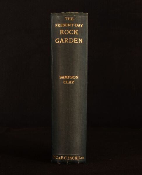 1937 The Present-Day Rock Garden Sampson Clay Illustrated 1st