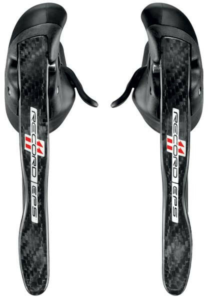 Campagnolo Record Carbon 11s EPS Ergopower Shifters Levers L amp; R Brake Cables $515.00