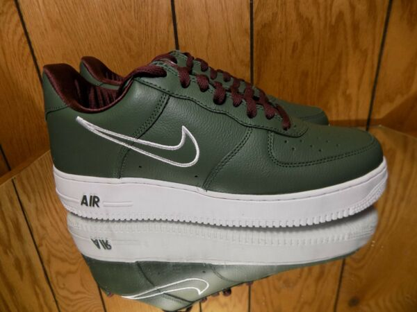 Men's Nike Air Force 1 Low Retro Hong Kong Deep Forest White 845053-300 Size 9