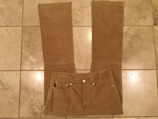 Gilmar Ice Jeans 100% Pelle Leather Size 31 $7.50