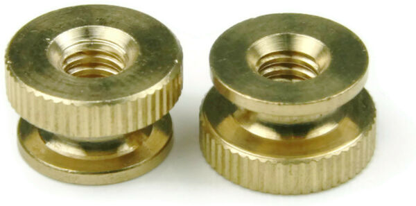 Brass Knurled Thumb Nuts - All Sizes & Quantities