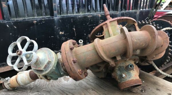 Gormann Rupp Cast Industrial Irrigation 6x4 Pump 4quot; Gate Valve Centrifugal Pump $795.00