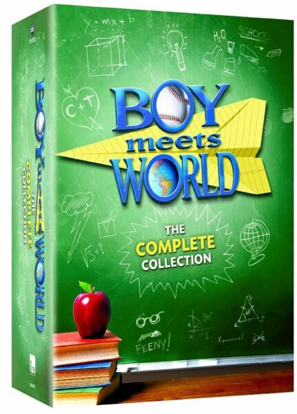 Boy Meets World: The Complete Series Collection (DVD Seasons 1-7 22-Disc Set)
