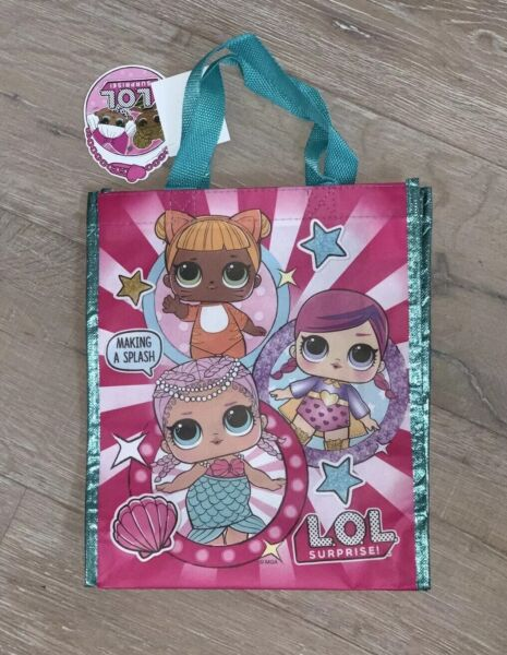 LOL Surprise Dolls Shopping Tote Re-useable Bag Birthday Party Favors Gifts Lol