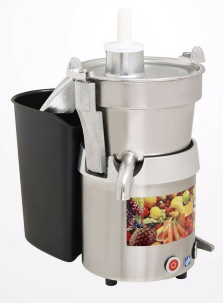 COMMERCIAL GRADE. SANTOS 28 VEGGIE JUICER STAINLESS COMMERCIAL NSF EXTRACTO