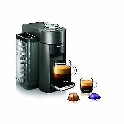 Nespresso Vertuoline Evoluo Deluxe Coffee and Espresso Maker-Graphite Metal