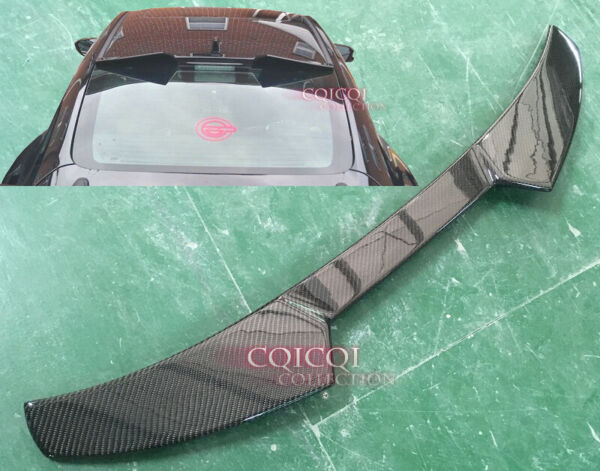 Carbon HONDA 17 20 CIVIC Coupe 2 door Si high kick V type roof spoiler LX EX ◎ $190.00