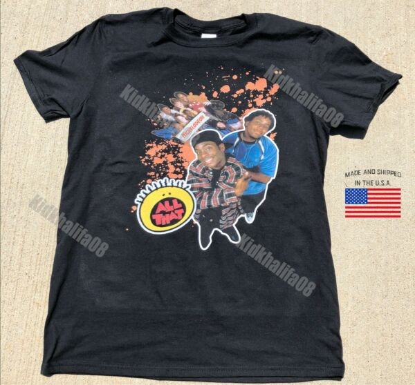 Kenan & Kel all that 90s nick supreme rare t-shirt 2019 vintage and old school