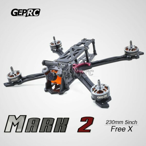 200mm FPV Racing Drone Frame RC Drone Frame Unfinished Quadcopter GEP-Mark2 tps