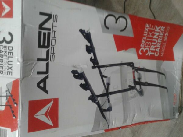 Allen Sports Deluxe 3 Bike Trunk Mount Rack $49.00
