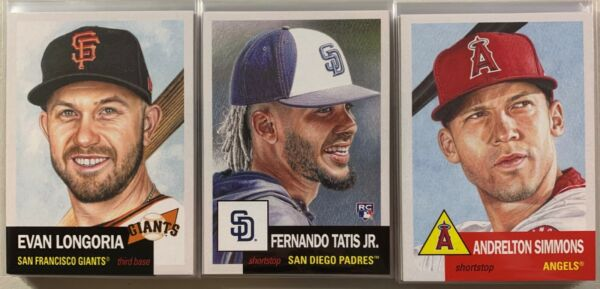 2019 Topps Living Set Lot #172-#270 PYC Complete Your Set
