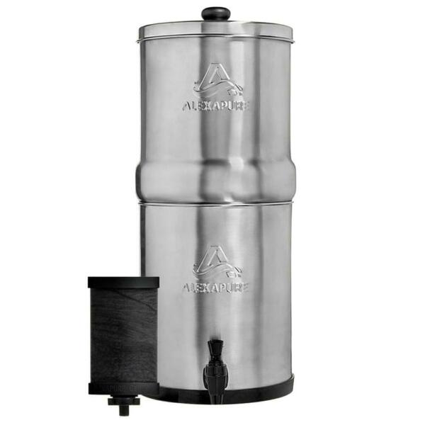 Alexapure Pro Stainless Steel Water Filter Filtration System NEW