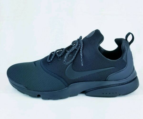 Nike Air Presto Fly SE Triple Black Grey Running Shoes 908020-007 New Size 11.5
