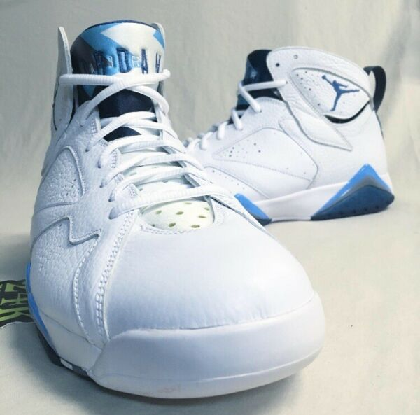 Air Jordan Retro 7 French Blue DS Sz 12 NEW! White Hare Raptor Bordeaux Olympic
