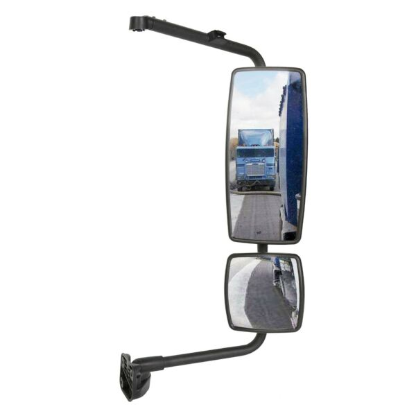 Door Mirror with Arm Passenger Side Fit International Durastar Workstar Transtar