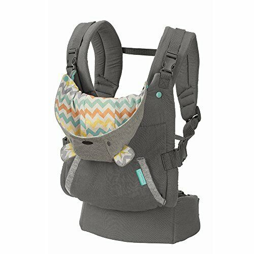 Cuddle Up Soft Carriers Ergonomic Hoodie Baby Carrier Grey $41.89