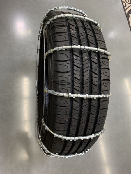 NEW Snow Ice Cable Tire Chains with *LUGS* P20575R15 P21570R15 P23560R15   8