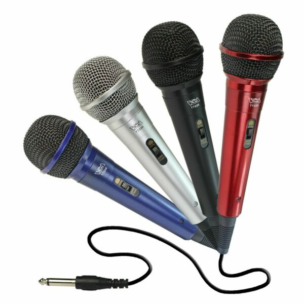 TOPTECH AUDIO DYNAMIC Wired Microphone SILVER