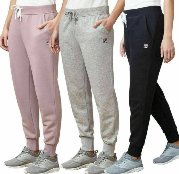Women's Fila French Terry Jogger Active Pants  S M L XL XXL- BUY 1 GET 1 10% OFF