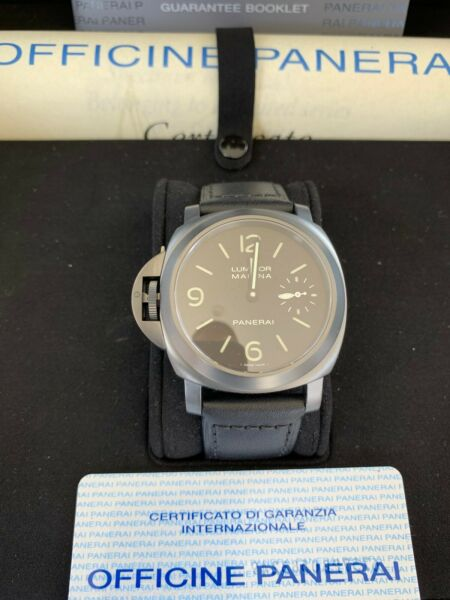 Panerai Luminor Marina Left Handed PAM00026 Wrist Watch for Men
