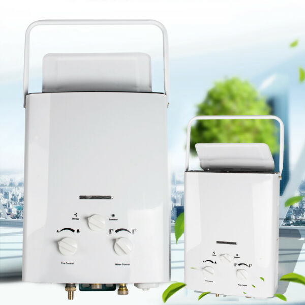 L6 1.6 GPM Liquid Propane Portable Tankless Water Heater Gas Instant Hot Boiler $84.00