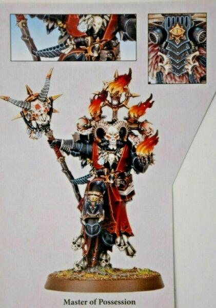 Warhammer Chaos Space Marines Master of Possession Shadowspear -NoS-
