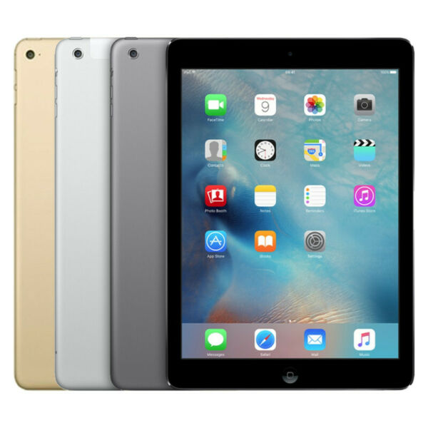 Apple iPad Air 2 16GB 32GB 64GB 128GB Wi Fi Only Gold Silver Space Gray $274.99