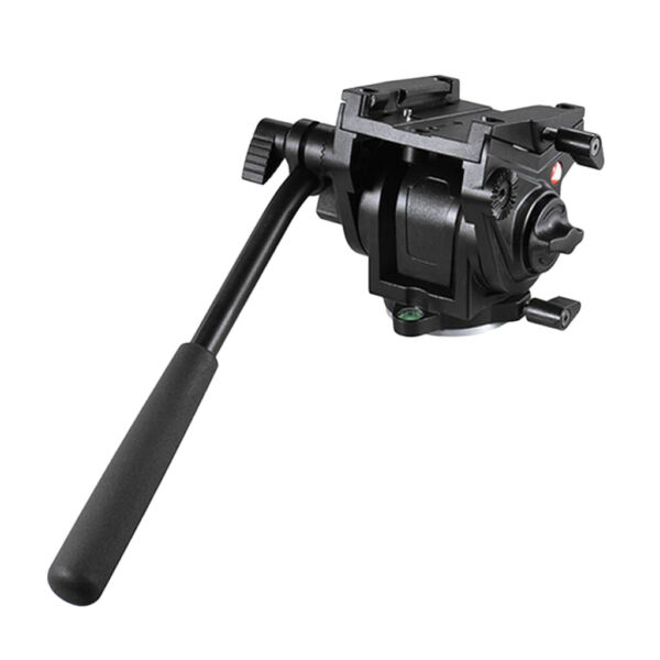 Max Load 5kg Video Tripod Head Fluid Monopod Head Hydraulic for DSLR camera