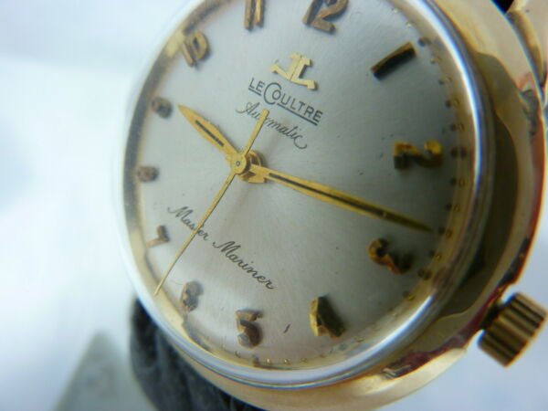 SUPER RARE LECOULTRE MASTER MARINER 1200 VACHERON 880 AUTOMATIC FANCY DIAL VTG