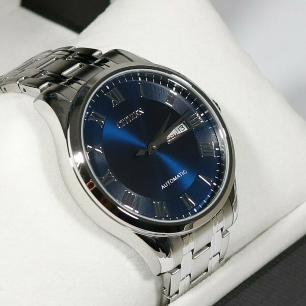 Citizen Blue Dial Stainless Steel Automatic Men's Watch NH8360-80L