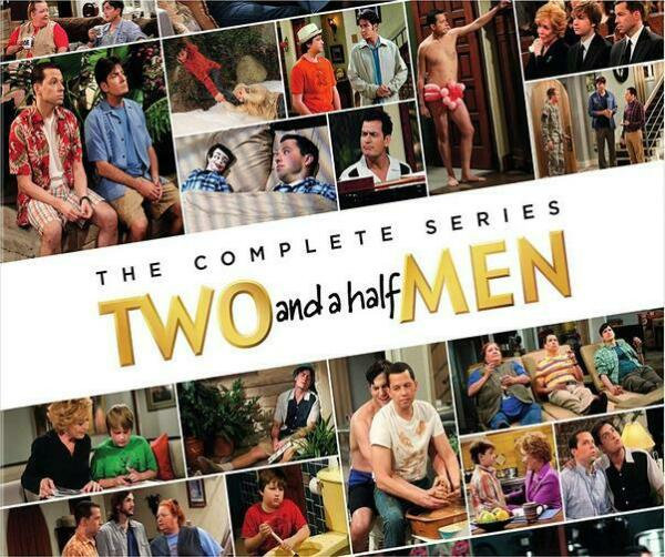 New Two and a Half Men Complete Series DVD Set Seasons 1-12 60 Day warranty