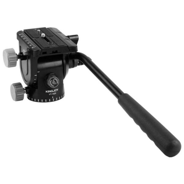 Max Load 3kg Video Tripod Head Fluid Monopod Head Hydraulic for DSLR camera