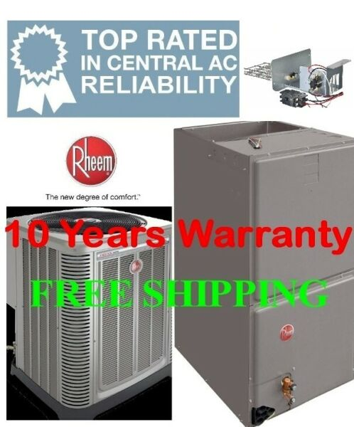 4 Ton R 410A 16SEER Complete Electric System Condenser Air Handler with Coil $3077.00